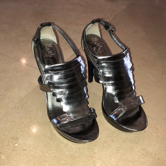0194d81503d5 Cole Haan Shoes - Cole Haan Maria Sharapova Silver Platform Heels